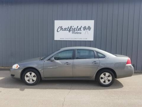 2008 Chevrolet Impala for sale at Chatfield Motors in Chatfield MN