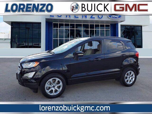 2018 Ford EcoSport for sale at Lorenzo Buick GMC in Miami FL