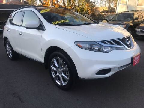 2013 Nissan Murano for sale at Alexander Antkowiak Auto Sales in Hatboro PA