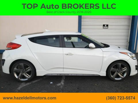 2013 Hyundai Veloster for sale at TOP Auto BROKERS LLC in Vancouver WA