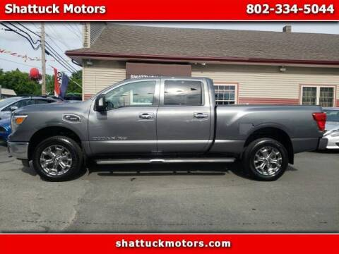 2019 Nissan Titan XD for sale at Shattuck Motors - NEKtrucks.com in Newport VT