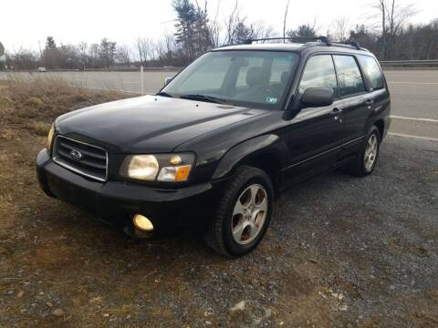 2004 Subaru Forester for sale at Mackeys Autobarn in Bedford PA