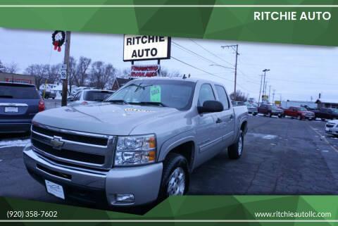 2009 Chevrolet Silverado 1500 for sale at Ritchie Auto in Appleton WI