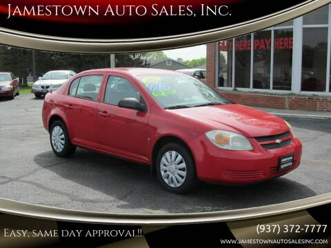 2007 Chevrolet Cobalt for sale at Jamestown Auto Sales, Inc. in Xenia OH
