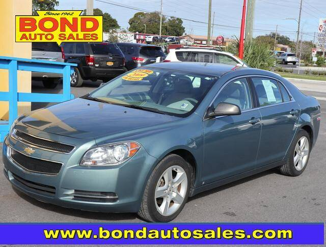 2009 Chevrolet Malibu for sale at Bond Auto Sales in St Petersburg FL
