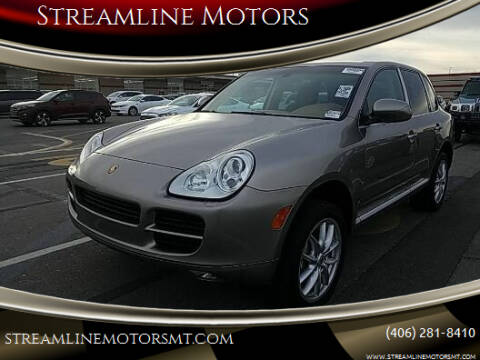 2005 Porsche Cayenne for sale at Streamline Motors in Billings MT
