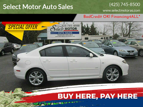 2007 Mazda MAZDA3 for sale at Select Motor Auto Sales in Lynnwood WA