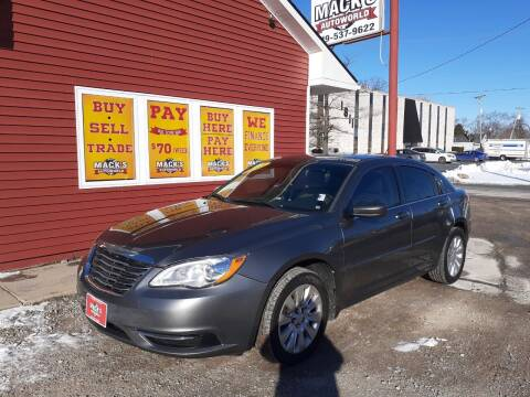 2013 Chrysler 200 for sale at Mack's Autoworld in Toledo OH