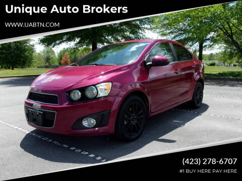 2014 Chevrolet Sonic for sale at Unique Auto Brokers in Kingsport TN