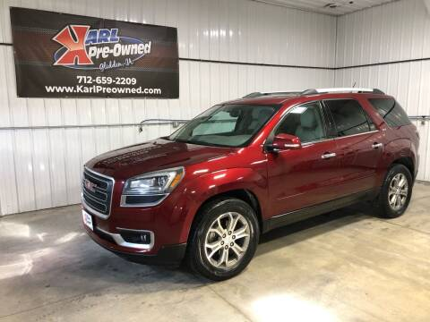 2015 GMC Acadia for sale at Karl Pre-Owned in Glidden IA