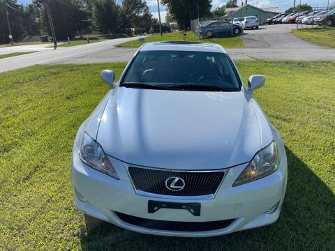 2007 Lexus IS 250 for sale at SHAN MOTORS, INC. in Thomasville NC