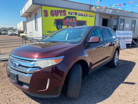 2011 Ford Edge for sale at 3 Guys Auto Sales LLC in Phoenix AZ