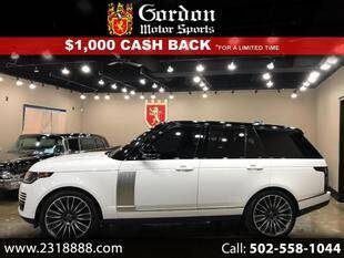2019 Land Rover Range Rover for sale in Louisville, KY