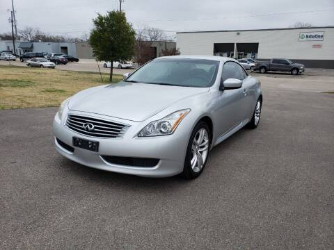 2010 Infiniti G37 Convertible for sale at Image Auto Sales in Dallas TX