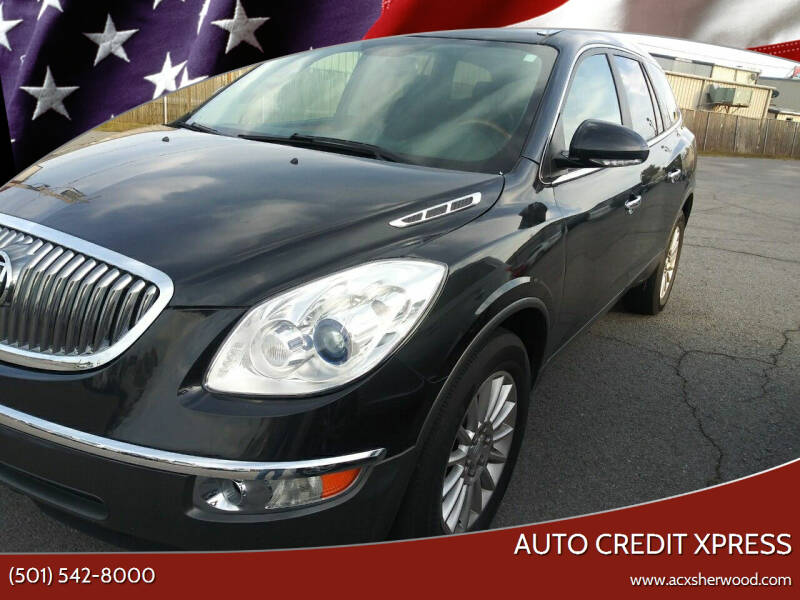 2012 Buick Enclave for sale at Auto Credit Xpress in North Little Rock AR