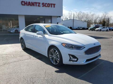 2020 Ford Fusion for sale at Chantz Scott Kia in Kingsport TN