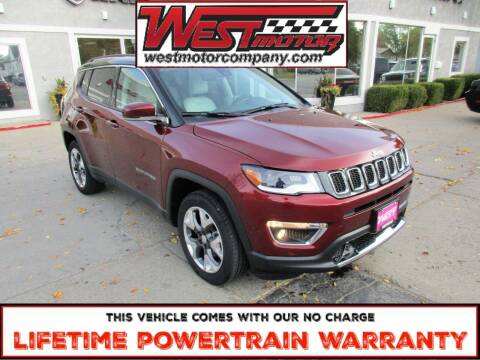 2020 Jeep Compass for sale at West Motor Company in Preston ID
