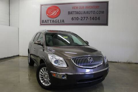 2012 Buick Enclave for sale at Battaglia Auto Sales in Plymouth Meeting PA
