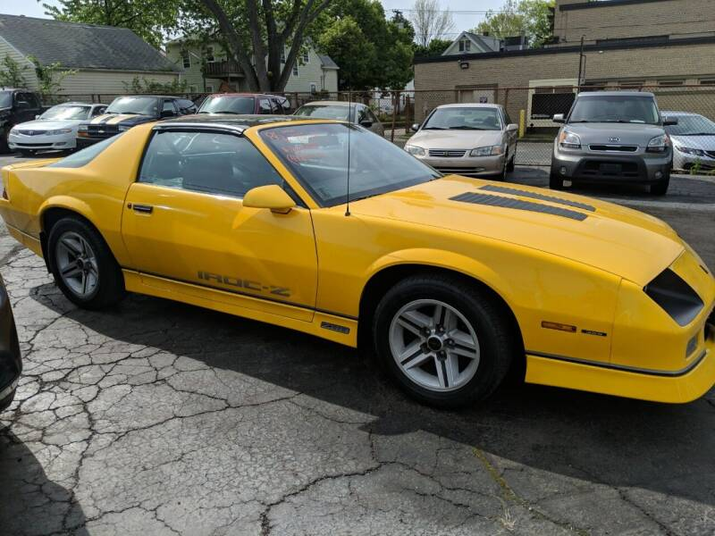 1986 Chevrolet Camaro for sale at Richland Motors in Cleveland OH