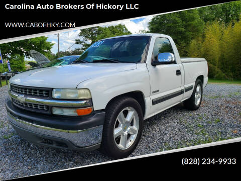 2000 Chevrolet Silverado 1500 for sale at Carolina Auto Brokers of Hickory LLC in Newton NC