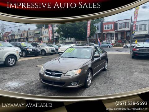 2008 Subaru Legacy for sale at Impressive Auto Sales in Philadelphia PA