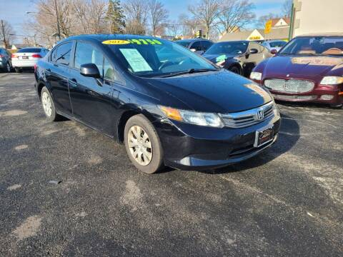 2012 Honda Civic for sale at Costas Auto Gallery in Rahway NJ