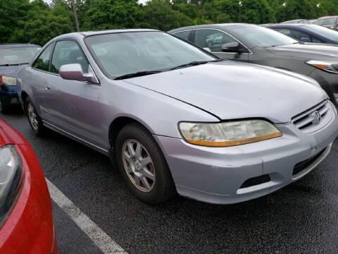 2002 Honda Accord for sale at Glory Auto Sales LTD in Reynoldsburg OH