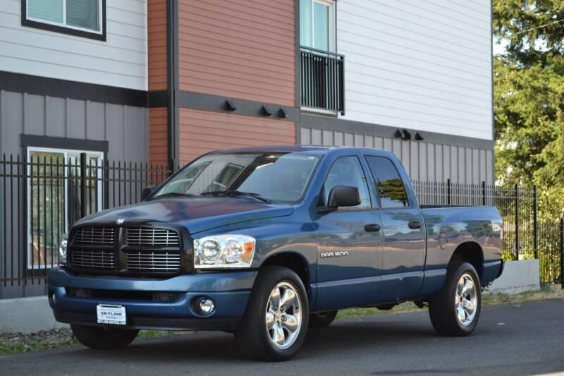 2003 Dodge Ram Pickup 1500 for sale at Skyline Motors Auto Sales in Tacoma WA