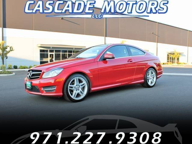 2014 Mercedes-Benz C-Class for sale at Cascade Motors in Portland OR
