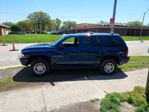 2001 Dodge Durango for sale at D & D Auto Sales in Topeka KS