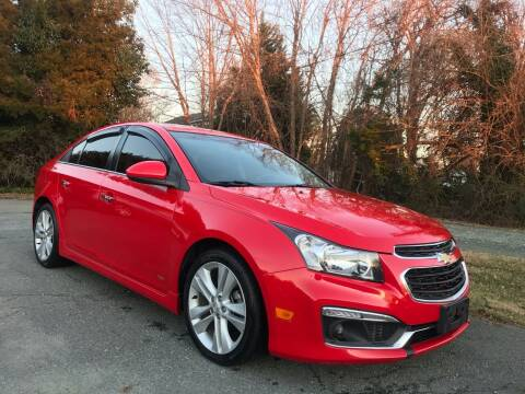2015 Chevrolet Cruze for sale at Pristine AutoPlex in Burlington NC