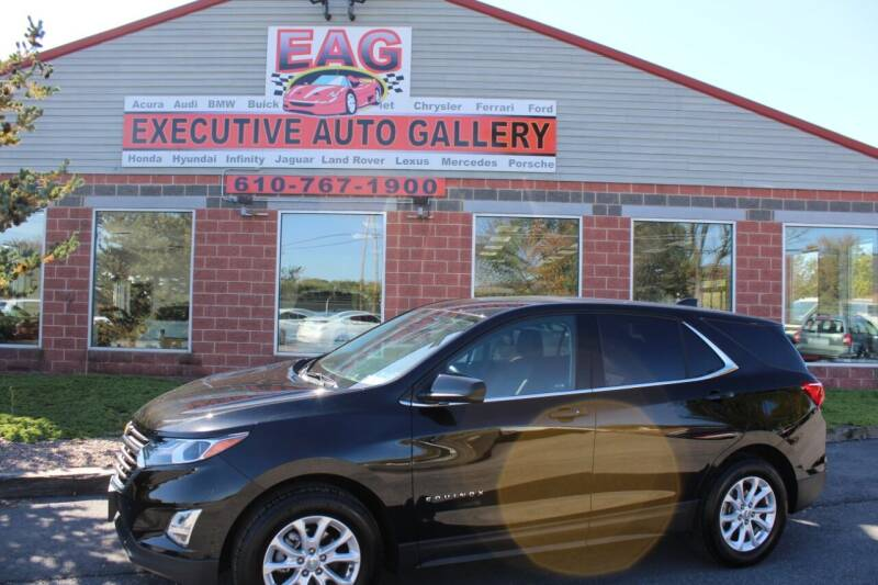 2020 Chevrolet Equinox for sale at EXECUTIVE AUTO GALLERY INC in Walnutport PA