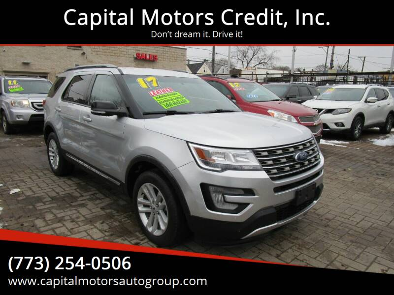 2017 Ford Explorer for sale at Capital Motors Credit, Inc. in Chicago IL