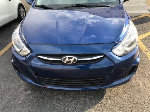 2016 Hyundai Accent for sale at Tiger Auto Sales in Columbus OH