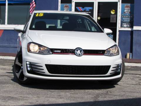 2015 Volkswagen Golf GTI for sale at VIP AUTO ENTERPRISE INC. in Orlando FL
