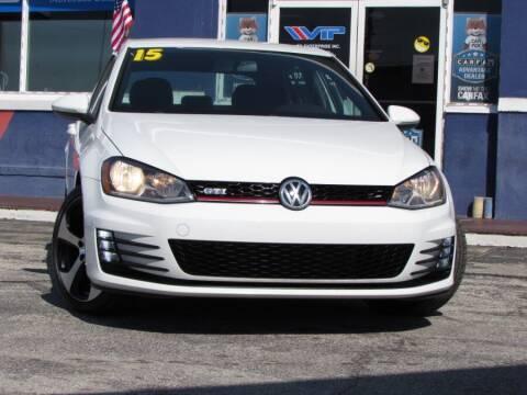 2015 Volkswagen Golf GTI for sale at VIP AUTO ENTERPRISE INC. in Orlando FL