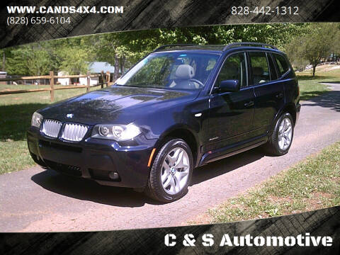 2009 BMW X3 for sale at C & S Automotive in Nebo NC