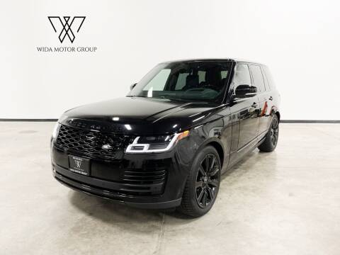 2019 Land Rover Range Rover for sale at Wida Motor Group in Bolingbrook IL