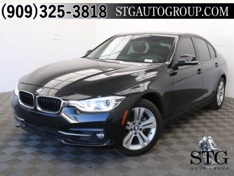 2017 BMW 3 Series for sale at STG Auto Group in Montclair CA