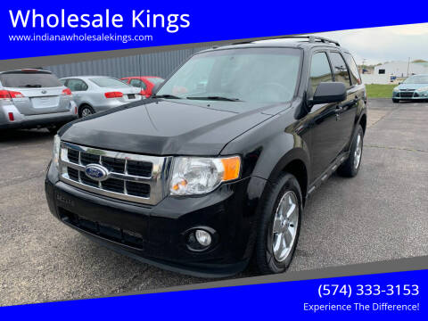 2012 Ford Escape for sale at Wholesale Kings in Elkhart IN
