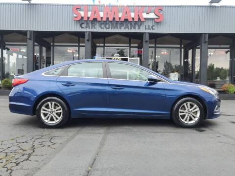 2016 Hyundai Sonata for sale at Siamak's Car Company llc in Salem OR