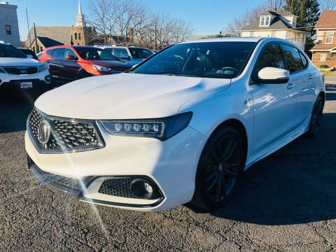 2019 Acura TLX for sale at 1NCE DRIVEN in Easton PA