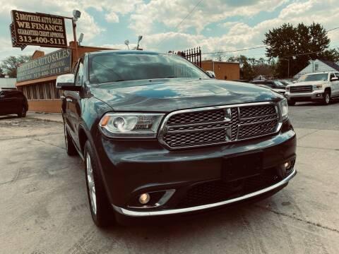 2014 Dodge Durango for sale at 3 Brothers Auto Sales Inc in Detroit MI