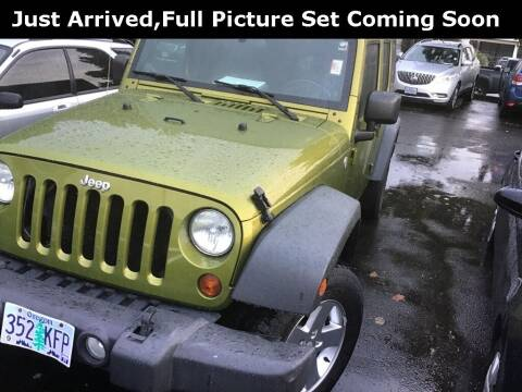 2010 Jeep Wrangler Unlimited for sale at Royal Moore Custom Finance in Hillsboro OR