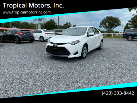 2017 Toyota Corolla for sale at Tropical Motors, Inc. in Riceville TN
