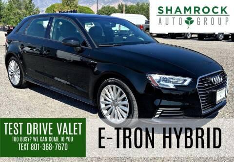 2018 Audi A3 Sportback e-tron for sale at Shamrock Group LLC #1 in Pleasant Grove UT