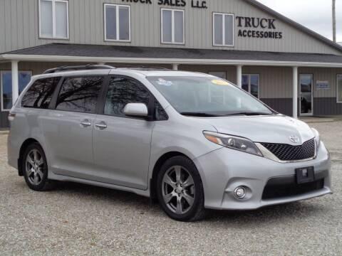 2017 Toyota Sienna for sale at Burkholder Truck Sales LLC (Edina) in Edina MO