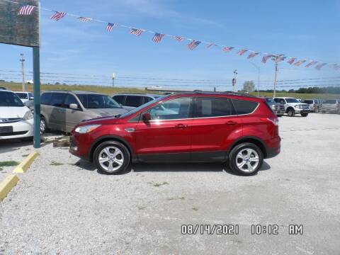 2013 Ford Escape for sale at Town and Country Motors in Warsaw MO