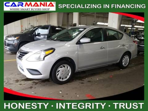 2017 Nissan Versa for sale at CARMANIA LLC in Chesapeake VA