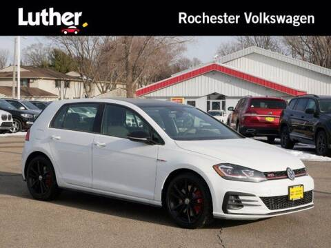 2021 Volkswagen Golf GTI for sale at Park Place Motor Cars in Rochester MN